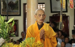 Đại lão Hòa thượng Thích Phổ Tuệ - Pháp chủ Giáo hội Phật giáo Việt Nam viên tịch ở tuổi 105