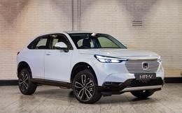 Honda HR-V 2022 đã lộ diện, 'ăn' 4,5L/100km - Sớm 'cọ xát' Toyota Corolla Cross