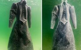 """Thả áo khoác xuống Biển Chết 1 năm rồi vớt lên, người đàn ông nhận về """"tuyệt tác"""" bao đại gia săn lùng"""