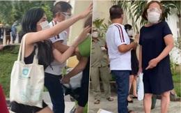 Bắt 2 mẹ con lao vào túm tóc, cào cấu công an phường vì không được trợ cấp dịch Covid-19