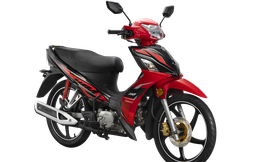 Đối thủ khó chịu của Honda Wave RSX ra bản nâng cấp, đi 100km tốn gần 2 lít xăng