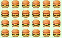 Đánh thức thị giác: Chiếc bánh Hamburger nào khác biệt với chiếc còn lại?