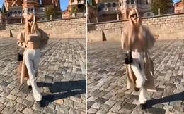 Sao khiêu dâm Nga khoe ngực trần trước nơi linh thiêng ở Quảng trường Đỏ - Nhận quả đắng!