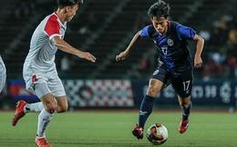 """Campuchia bị Nhật Bản trút """"cơn mưa"""" bàn thắng, rơi vào thế """"hiểm nghèo"""" ở giải châu Á"""
