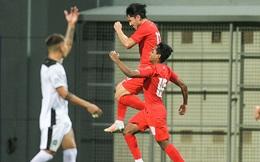 """Rút """"bài học lớn"""" từ thầy Park, U23 Singapore giành trận thắng để tranh chấp cùng Việt Nam"""