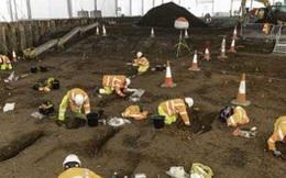 Làm đường, đào trúng hơn 9.000 mộ cổ, có cả hài cốt đặt trong lồng sắt