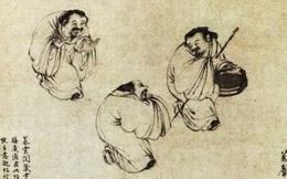 Phóng to 3 lần bức tranh kỳ lạ vẽ 3 ông lão trong Bảo tàng Cố cung, chuyên gia thốt lên: Ai xem cũng phải chột dạ!