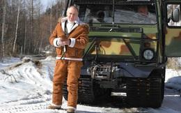 """""""Thuần phục quái thú"""" ở Siberia: Không thứ gì làm khó được TT Putin!"""
