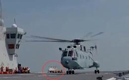 Lộ diện UAV trực thăng bí ẩn trên tàu đổ bộ Type 075 và đội hình UAV trực thăng của Trung Quốc