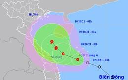 Áp thấp nhiệt đới khả năng mạnh lên thành bão, gây mưa tới 400 mm ở miền Trung