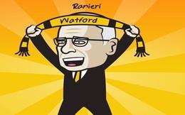 """Biếm hoạ 24h: """"Gã thợ hàn"""" Ranieri trở lại Ngoại hạng Anh"""