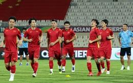 Đội tuyển Việt Nam làm quen sân, sẵn sàng bước vào trận đấu gặp tuyển Trung Quốc