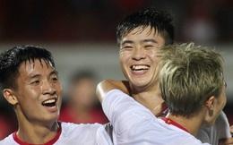 ĐT Việt Nam mặc màu áo may mắn ở trận đấu với ĐT Trung Quốc