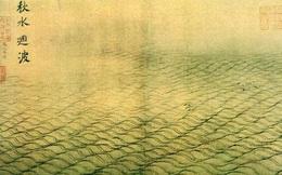 """Bộ tranh quý trong Bảo tàng Cố Cung, 12 trang chỉ vẽ """"nước"""" nhưng chuyên gia phải thốt lên: Không thể rời mắt!"""