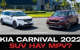 Chuyên gia sản phẩm của một hãng xe sang: ''Kia Carnival 2022 không phải SUV''