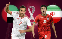 Link xem trực tiếp UAE vs Iran, 23h45 ngày 7/10, vòng loại thứ ba World Cup