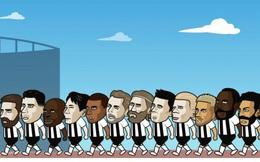 """Biếm họa 24h: Dàn sao bóng đá thế giới """"xếp hàng"""" chờ gia nhập Newcastle"""