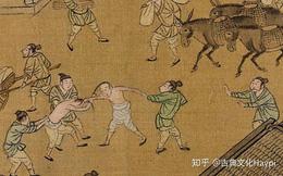 """Phóng to 100 lần bức tranh cổ, chi tiết """"dở khóc dở cười"""" khiến cư dân mạng thảng thốt: Hoá ra người xưa cũng không khác bây giờ là bao!"""