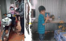 Hai cha con chở hũ tro cốt trên giỏ xe đã về đến nhà: Con 3 tuổi đêm khóc đòi mẹ, phải vay tiền để an táng vợ