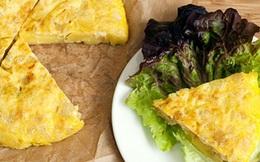 Cách làm món trứng chiên kiểu Tây Ban Nha thích hợp cho những ngày mưa