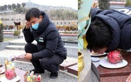 Con gái 8 tuổi chết vì bạo bệnh, hành động mỗi ngày của người bố ở nghĩa trang sau khi con qua đời gây xúc động