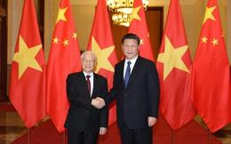 Chủ tịch Trung Quốc Tập Cận Bình chúc mừng Tổng bí thư Nguyễn Phú Trọng