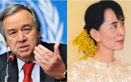 Tổng Thư ký LHQ lên án việc bắt giữ nhà lãnh đạo Myanmar San Aung Suu Kyi
