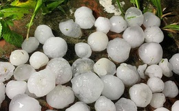 Giáp Tết có thể mưa đá, dông lốc diện rộng