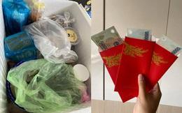 Con dâu ở Sài Gòn tránh dịch, mẹ chồng tiếp tế 2 thùng đồ ăn đầy ắp và một vật không thể thiếu trong dịp Tết