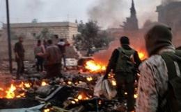 Clip:Điên cuồng trỗi dậy, IS chết chìm trong đạn trực thăng Nga ở Syria