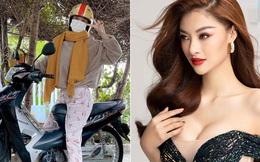 Không nhận ra á hậu Việt nổi tiếng nóng bỏng, cá tính khi về quê ăn Tết