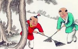 """Nguồn gốc tục dọn nhà cuối năm của người Trung Quốc: Từ 23 đến đêm 30 Tết là thời gian """"quét sạch bụi"""""""