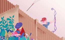 Đang chăm hoa trong vườn, người phụ nữ bị trúng tên, kết quả bất ngờ là quy luật về kiếp nhân sinh