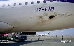 Ả Rập Saudi: Phiến quân tấn công bằng UAV, đốt máy bay dân sự