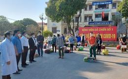 Thêm 22 bệnh nhân được công bố khỏi bệnh tại Chí Linh chiều 30 Tết