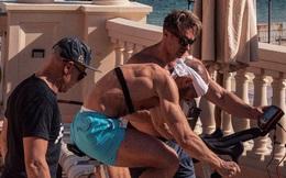 McGregor khoe body cơ bắp cuồn cuộn, tập luyện tích cực trước thông tin chuẩn bị tái đấu cùng Poirier