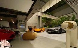 Nhà siêu giàu của Cường Đô La: Gara xịn xò chứa toàn siêu xe, bộ sưu tập trực thăng gây choáng