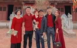 Sao bóng đá Việt du xuân, đón Tết bên gia đình