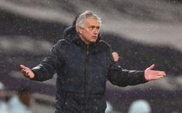 Thua trận trước Man City, Mourinho đổ lỗi cho lịch thi đấu và VAR
