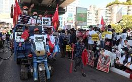 Người Myanmar tiếp tục biểu tình bất chấp động thái mới của quân đội