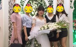 Cô gái dở khóc dở cười vì bị bố ép cầm bó hoa dơn dài 2 mét trong ngày cưới, phản đối thì... nghỉ rước dâu