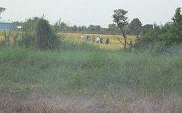 Thấy công an, nhiều con bạc chạy tán loạn ra ruộng lúa