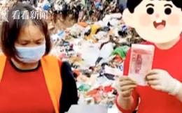 Người phụ nữ bới tung 10 tấn rác vào mùng 1 Tết vì lỡ vứt bao lì xì hơn 30 triệu đồng và cái kết khiến ai cũng thở phào
