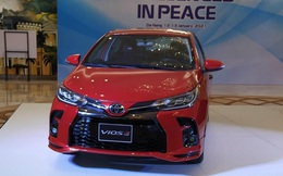 """Cận cảnh """"hàng nóng"""" Toyota Vios 2021 tại Việt Nam, giá bán bao nhiêu?"""