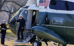 Vì sao hải quân Mỹ thay thế trực thăng chuyên cơ phục vụ tổng thống Biden?