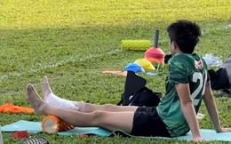 Lee Nguyễn bất ngờ bị đau khiến CLB TP.HCM thấp thỏm lo âu