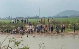 Đi bắt ốc dưới sông Thoa ở Quảng Ngãi, anh rể và em vợ bị đuối nước tử vong