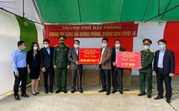 3 tỉnh, thành phố hỗ trợ tiền và khẩu trang  giúp Hải Dương chống dịch Covid-19