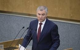 """Nga là pháo đài tự do cuối cùng của thế giới: Mắng Ukraine, Chủ tịch Hạ viện Nga tiện thể """"đá xoáy"""" Mỹ"""