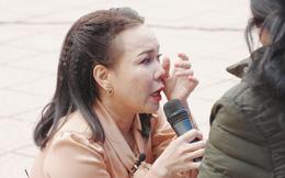 Việt Hương: Về đến nhà tôi không ăn nổi, sụp xuống luôn